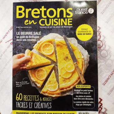 On parle de nous dans Bretons en Cuisine !