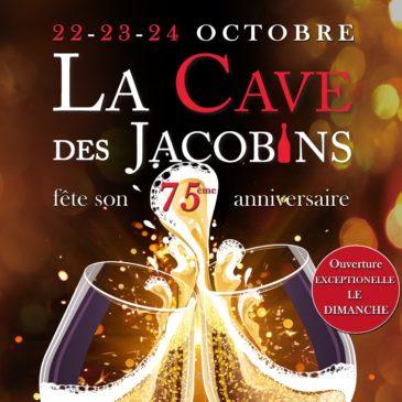 Célébrons ensemble le 75ème anniversaire de La Cave des Jacobins !